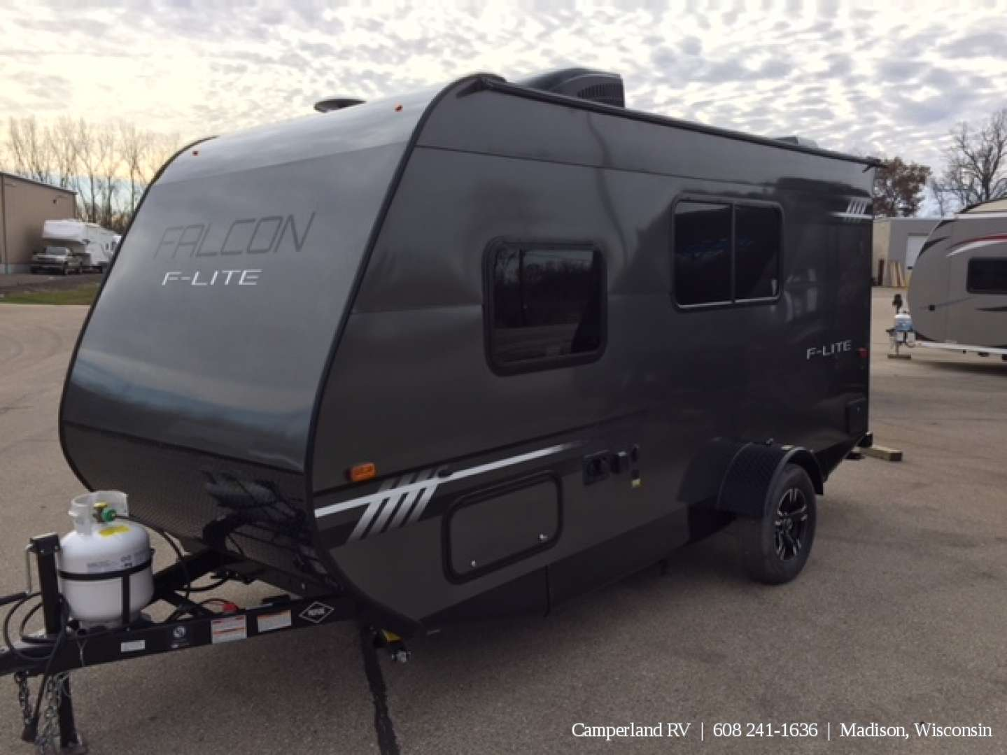 2018 Travel Lite Falcon F Lite 18rb 766 Camperland Rv In Madison Wi Wisconsin